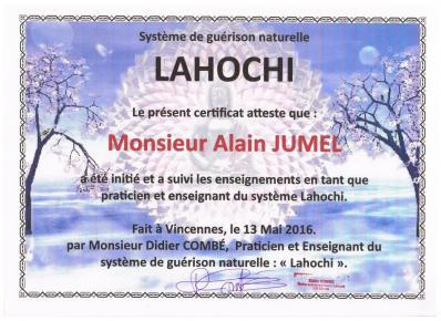 Certificat lahochi